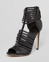 Brian Atwood Open Toe Caged Sandals - Langden High Heel