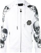 Philipp Plein Grey hoodie - men - Cotton - M