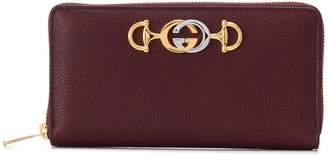 Gucci Zumi zip around wallet