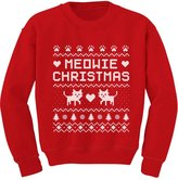 TeeStars Meowie Christmas Ugly Sweater Cute Kittens Xmas Toddler/Kids Sweatshirts