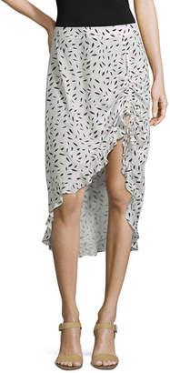 SOCIETY AND STITCH Society And Stitch High Low Full Skirt- Juniors