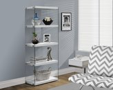 Monarch Specialties I 3289 with Tempered Glass Bookcase