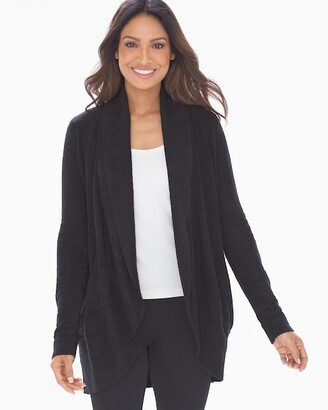 Soma Intimates Barefoot Dreams CozyChic Lite Circle Cardi