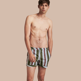Burberry Pyjama Stripe Swim Shorts
