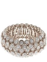 Natasha Accessories Crystal Stretch Bracelet