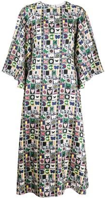 La DoubleJ Sorella midi dress