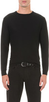 Polo Ralph Lauren Cable-knit cashmere and linen-blend sweatshirt