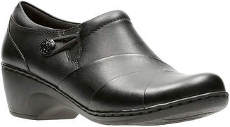 Clarks Channing Ann Leather Womens Casual Shoes