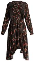 Isabel Marant Wesley floral-print pleated dress