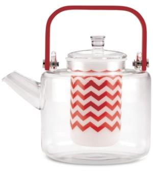 Bonjour Bon Jour Reverie 42-Oz. Handblown Glass Teapot