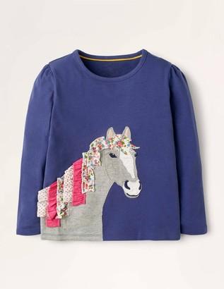 Ruffle Applique T-shirt
