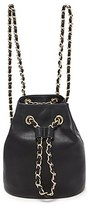 Forever 21 FOREVER 21+ Faux Leather Bucket Backpack