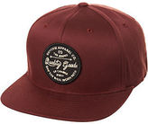 rhythm New Men's Stamp Snapback Cap Cotton Red N/A