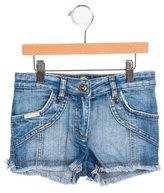 Dolce & Gabbana Girls' Embroidered Denim Shorts
