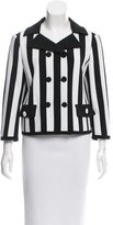 Moschino Double-Breasted Striped Blazer