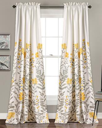 Triangle Home Fashion Aprile Room Darkening Window Curtain