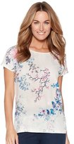 M&Co Floral blossom top