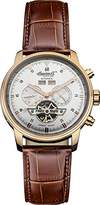 "Ingersoll Men's IN4511RSL ""Okies"" Stainless Steel Automatic Watch with Brown Genuine Leather Band"