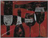 "Art.com Wine Selection III Red"" Mounted Art Print"