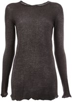 Avant Toi fine-knit sweater