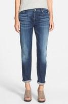 7 For All Mankind 'Josefina' Boyfriend Jeans (Royal Broken Twill)