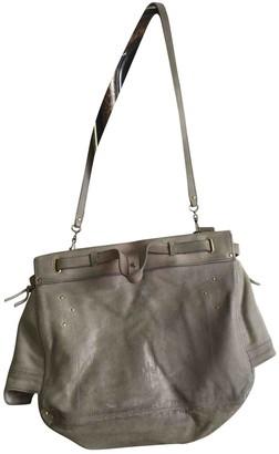 Jerome Dreyfuss Carlos Grey Leather Handbags