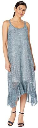 Nic+Zoe Santorini Tiles Dress (Multi) Women's Dress