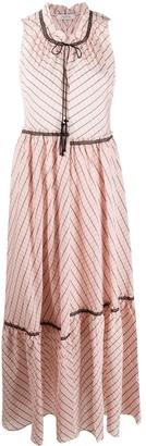 Dorothee Schumacher Geometric-Print Flared Dress