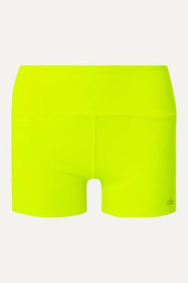 Alo Yoga Airbrush Neon Stretch Shorts