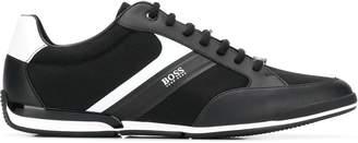 BOSS colour block sneakers