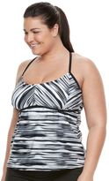 adidas Plus Size Blend a Hand Tankini Top