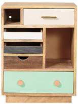 Oliver Bonas Halle Wooden Bedside Cabinet - Left