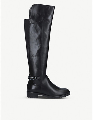 Kurt Geiger London Valerie over-the-knee leather boots