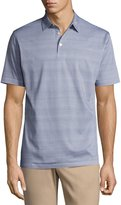 Peter Millar Collection Storm at Sea Cotton Polo Shirt, Blue