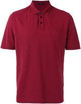 Roberto Collina chest pocket polo shirt - men - Cotton - 48