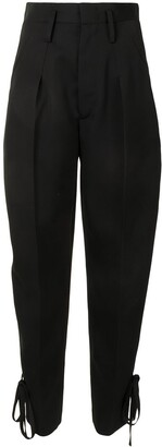 Isabel Marant Tapered High-Waist Trousers