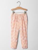 Gap Floral mosaic pants
