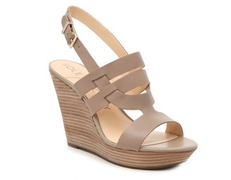 Sole Society Jenny Wedge Sandal