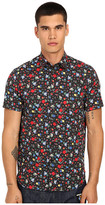Love Moschino Floral Short Sleeve Woven Tee