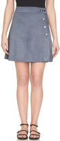 1 STATE 1.State Faux Suede A-Line Skirt