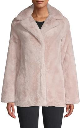 Tahari Violet Faux Fur Jacket