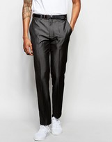 French Connection Grey Tonic Suit Trousers