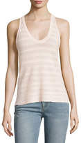 Zadig & Voltaire Olymp Pointelle Sleeveless Top