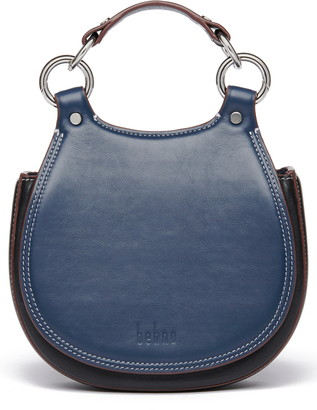 behno Tilda Mini Leather Saddle Bag
