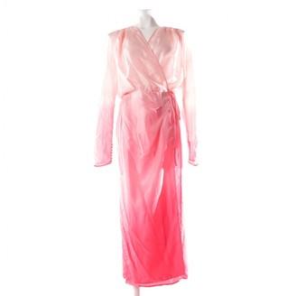 ATTICO Pink Silk Dresses