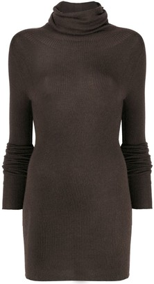 Rick Owens Knitted Long-Length Top