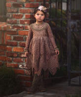 Chocolate Abigail Dress - Infant, Toddler & Girls