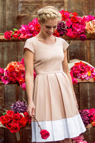 Shabby Apple Spring Blush Fit and Flare Dress