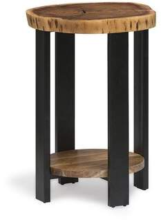 Foundry Select Bexton Round End Table Foundry Select