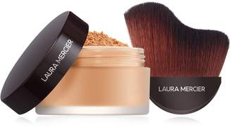Laura Mercier Make it Glow Medium Deep Loose Setting Powder - Glow with Brush